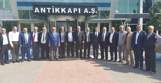 KARADENİZ, SORUNLARI VALİ'YE  AKTARDI