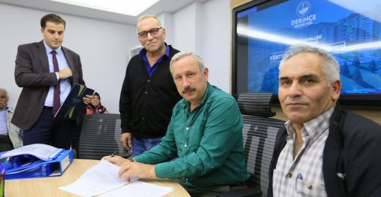 DERİNCE'DE KENTSEL DÖNÜŞÜM BAŞLIYOR