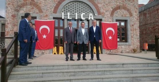 VALİSİ AKSOY'DAN YAZLIK ILICA'YA ZİYARET
