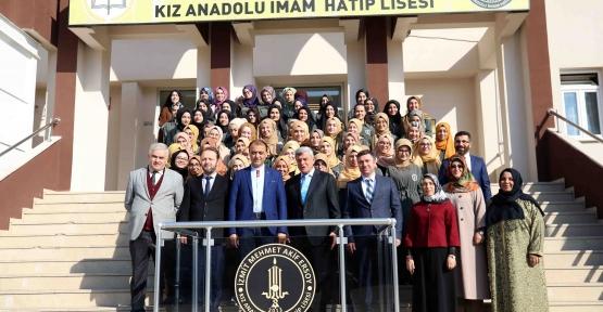 MEHMET AKİF ERSOY'A KONFERANS VE SPOR SALONU MÜJDESİ