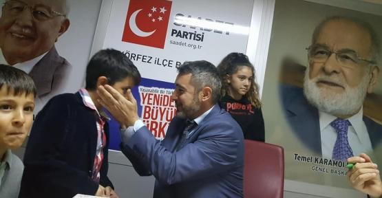 SAADET PARTİSİ ÇOCUKLARLA TOPLANDI