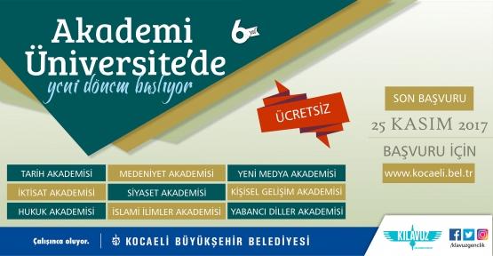 AKADEMİ ÜNİVERSİTE'DE YENİ DÖNEM BAŞLIYOR