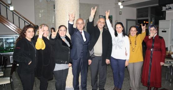 ÜNLÜ '' 4  BELEDİYEYİ ALACAĞIZ ''
