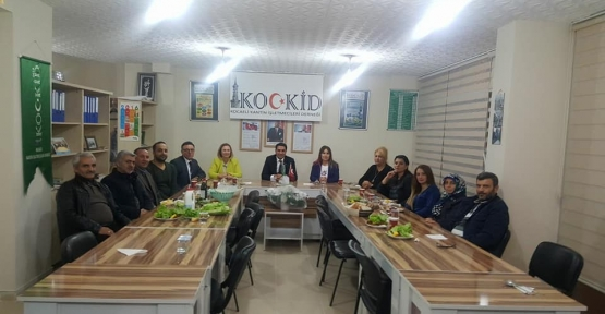 KOCKİD 'DEN ANLAMLI KUTLAMA