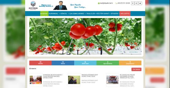 DİYADİN'İN WEB SİTESİ İZMİT BELEDİYESİ'NDEN
