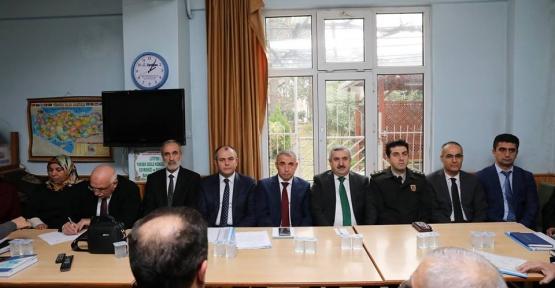 ESENTEPE MAHALLESİ'NDE HUZUR TOPLANTISI