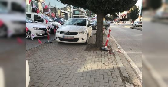 ZABITA YANLIŞ PARKI AFFETMİYOR