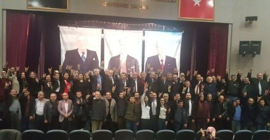 MHP İSTİŞARE TOPLANTISI YAPTI