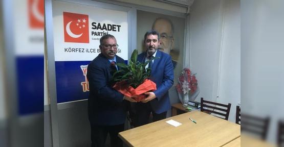 CHP'DEN, SAADET PARTİSİ'NE ZİYARET