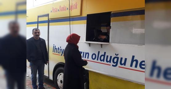 İLİMTEPE'DE MOBİL PTT