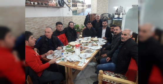İLİMTEPE FK'YA GALİBİYET YEMEĞİ