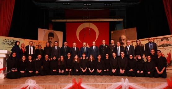 İSTİKLAL MARŞI'NIN 97. YIL DÖNÜMÜ KUTLANDI