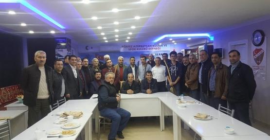 KÖRFEZ AZERBAYCAN SPOR  KLUBÜ DERNEĞİ'NDE AŞIKLAR GECESİ
