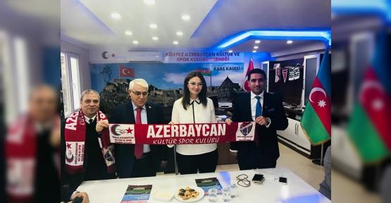 KÖRFEZ'DE AZERBAYCAN RÜZGARI ESTİ