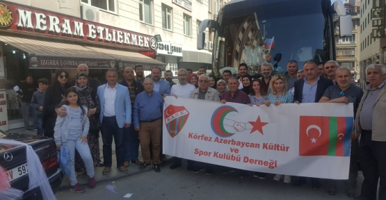 KÖRFEZ AZERBAYCANSPOR KULÜP DERNEĞİ KONYA'DA