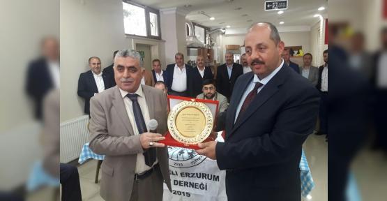 Erzurum Çatlılarda Başkan  Selami Laçin oldu