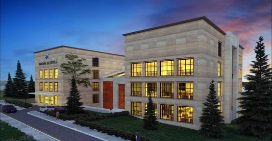 Kandıra'ya yeni belediye hizmet binası geliyor