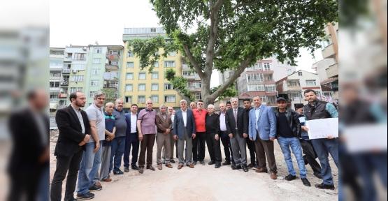 Karaosmanoğlu; ''Çınarlı Camii 2020'de ibadete açılacak''