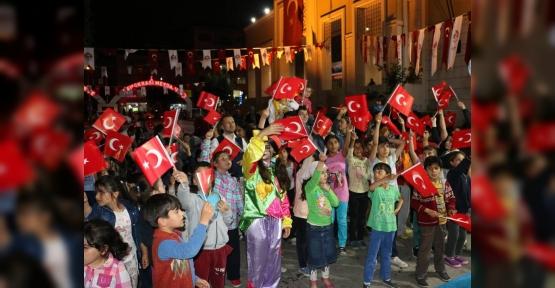 Ramazan'da çocuklar  eğlenirken öğreniyor