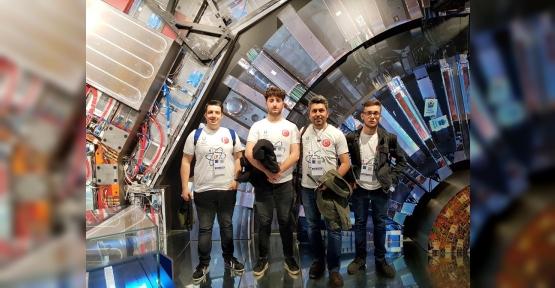 """""""ZİHİN KONTROLÜ"""" PROJESİYLE ÖDÜL ALDILAR, CERN'E GİTTİLER"""
