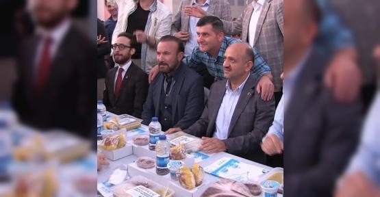AKPINAR'DA BİNLER İFTARDA BİR ARAYA GELDİ