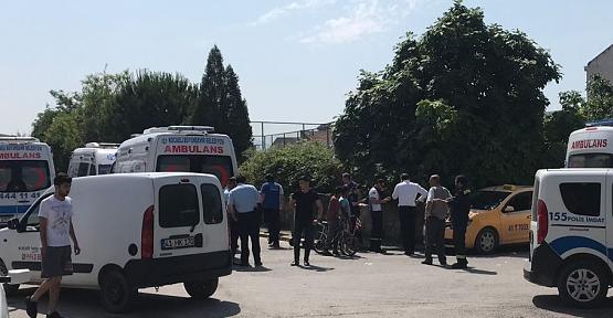 AMBULANSLA TİCARİ TAKSİ ÇARPIŞTI..!