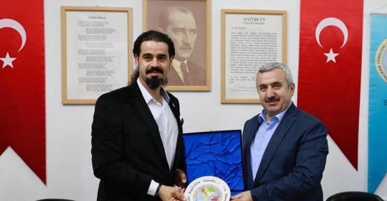 Baran ve Söğüt, Bal-Türk'ü  Ziyaret Etti