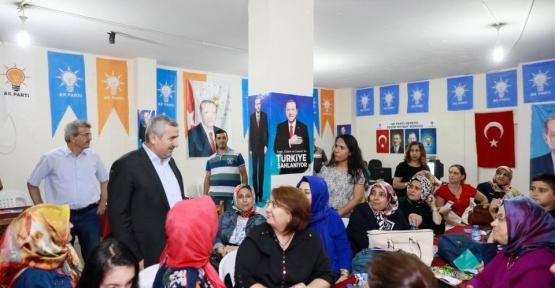 Başkan  Baran Güçlü Türkiye' için gece gündüz sahada
