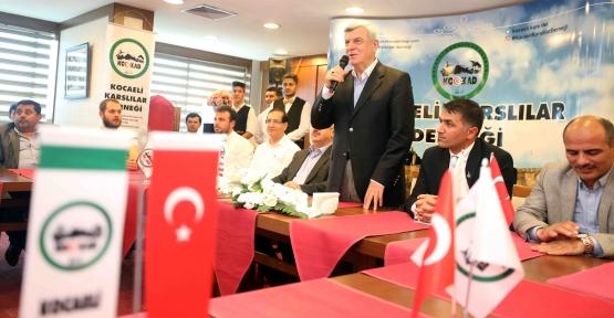 Başkan Karaosmanoğlu, ''Kocaeli'de kalkınma hamlesi devam ediyor''