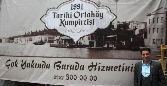 ORTAKÖY'ÜN KUMPİR LEZZETİ KÖRFEZ'DE