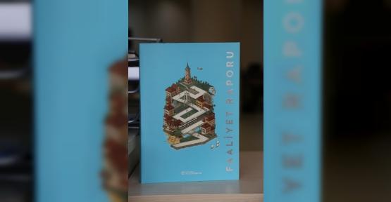 Büyükşehir'in Faaliyet Raporuna altın madalya