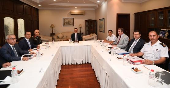 İl Güvenlik Ve Asayiş Koordinasyon Toplantısı, Kocaeli Valisinin Başkanlığında Gerçekleştirildi