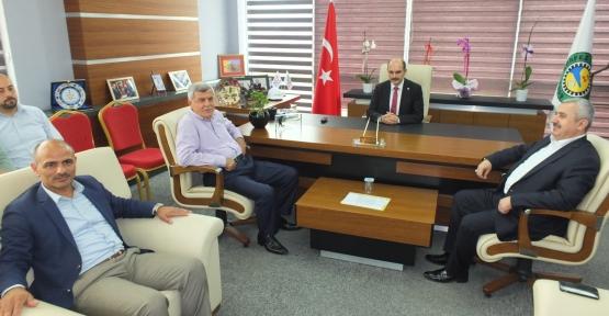 Karaosmanoğlu ve Baran  KTO'yu Ziyaret Etti