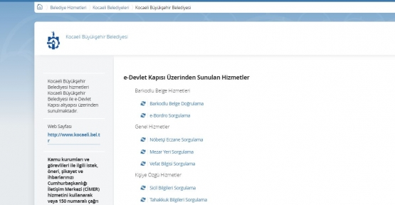Türkiye'de ilk: e-Devlet Kapısına İki Yeni Hizmet Daha Eklendi