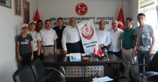 15 Temmuz Millet İradesi Derneği'nden MHP'Ye ziyaret
