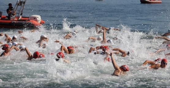 'Altın Kulaçlar' Karamürsel'de Yarıştı