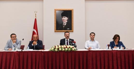 Bağımlılıkla Mücadele İl Koordinasyon Toplantısı, Vali Aksoy'un Başkanlığında Gerçekleştirildi