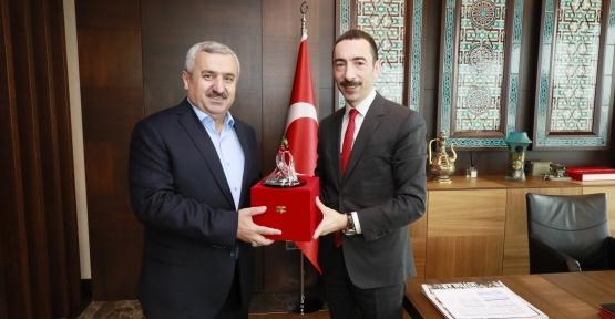 Başkan Baran'dan  'Hayırlı Olsun' Ziyareti