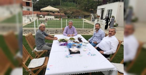Başkan Baran'dan, Mevkidaşı Ellibeş'e ziyaret