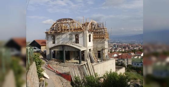 Cami İnşaatı Hızla Devam Ediyor