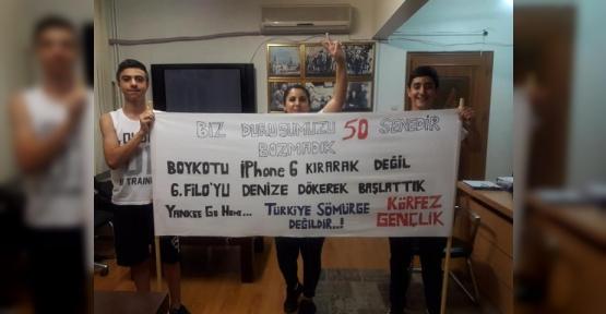 CHP KÖRFEZ'DEN İLGİNÇ PANKART..!
