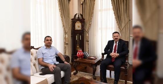 Diyarbakır Silvan Kaymakamı Adem Çelik, Kocaeli Valisini Ziyaret Etti