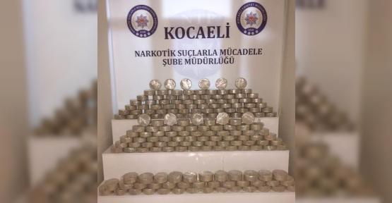 KOCAELİ'DE TEMMUZ AYINDA 70 KİLOGRAM EROİN ELE GEÇİRİLİDİ...!