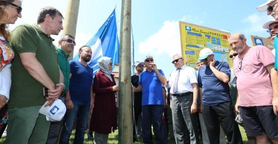 Kumcağız'a Mavi Bayrak