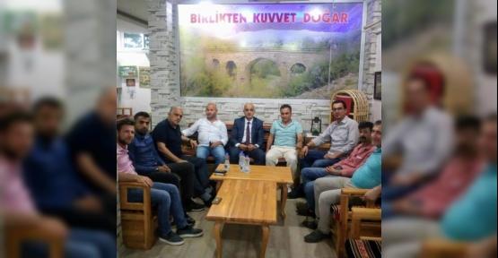 MHP'den Sönmez'e Ziyaret