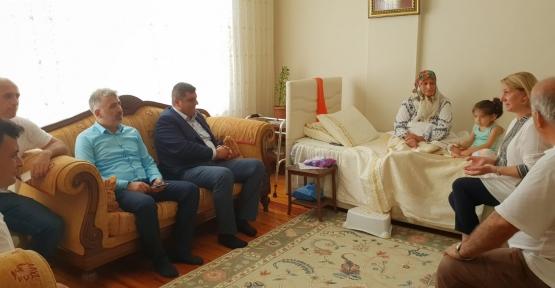 Zeybek ve Ayaz'dan Anlamlı Ziyaretler