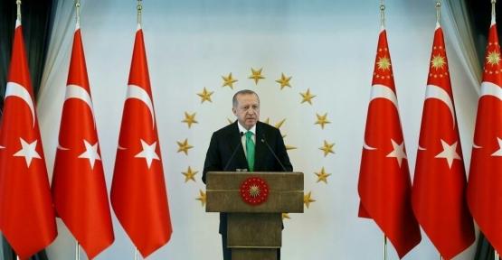 Başkan Karaosmanoğlu, Külliyede Cumhurbaşkanı Erdoğan'a Konuk Oldu