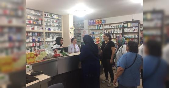AK Kadın İzmit'ten  Esnaf Ziyareti