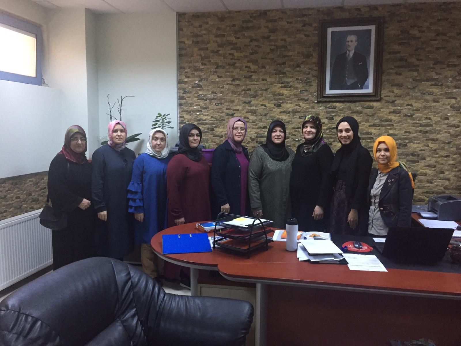 AK Kadınlardan  Sosyal Yardımlaşma Vakfı Ziyareti