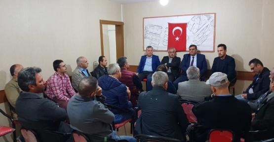 AK PARTİ İZMİT'TEN  MAHALLE MAHALLE İSTİŞARE